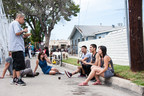 Angelenos discuss their vision for the future of Los Angeles in Frogtown at the Elysian Valley Community Celebration, an event organized by Mas-LA as part of the LA2050 initiative. (PRNewsFoto/LA2050)