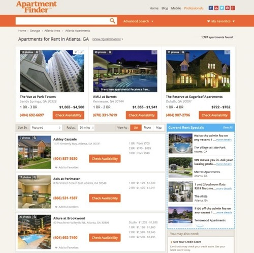 Apartment Finders Com: ApartmentFinder.com Introduces Industry-First OnDemand