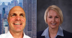 Kevin Connolly (left) joins InStore Audio Network as President of Sales.  Carrie Stec (right) is new Vice President - Sales.  (PRNewsFoto/InStore Audio Network)