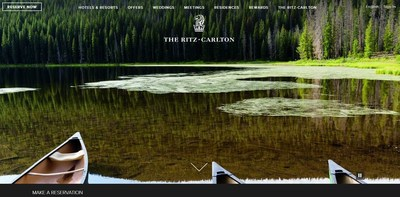 The Beautiful New Digital World of The Ritz-Carlton; Immersive Travel Site Pushes Guest Photos to the Fore