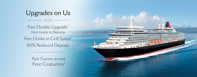 Cunard announces Upgrades on Us