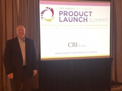 Chief Operating Officer of Alamo Pharma Services Peter Marchesini at the Second Annual Life Sciences Product Launch Summit in Philadelphia on June 29.