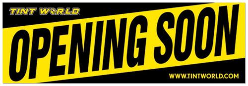 Tint World Stores Opening Soon.  (PRNewsFoto/Tint World)
