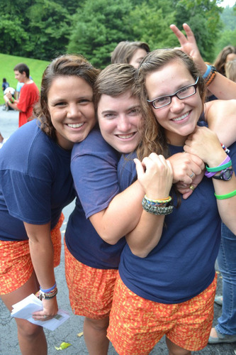 Campers having fun at Talisman's summer camp for autistic, ADHD, and special needs children and young adults. (PRNewsFoto/Talisman Camps) (PRNewsFoto/TALISMAN CAMPS)