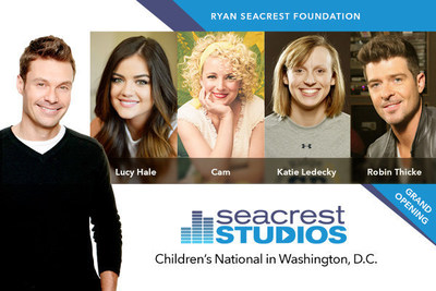 Ryan Seacrest Foundation Opens Multimedia Broadcast Studio at Children's National Health System
