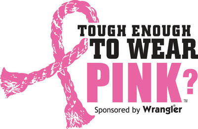 Rodeos rally for Pink! Wrangler Tough Enough To Wear Pink western campaign to fight breast cancer marks 11 anniversary and over 22 million dollars in funds raised by the western community.