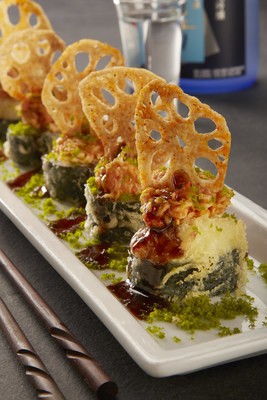 RA Sushi's signature Viva Las Vegas Roll is part of the restaurant's Valentine's Day prix-fixe three course menu perfect for two, for only $35 from Feb. 12-14.