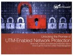 With network performance no longer limiting the UTM value proposition, Frost & Sullivan offers three simple steps to help future-proof UTM network security in this new eBook from WatchGuard Technologies.