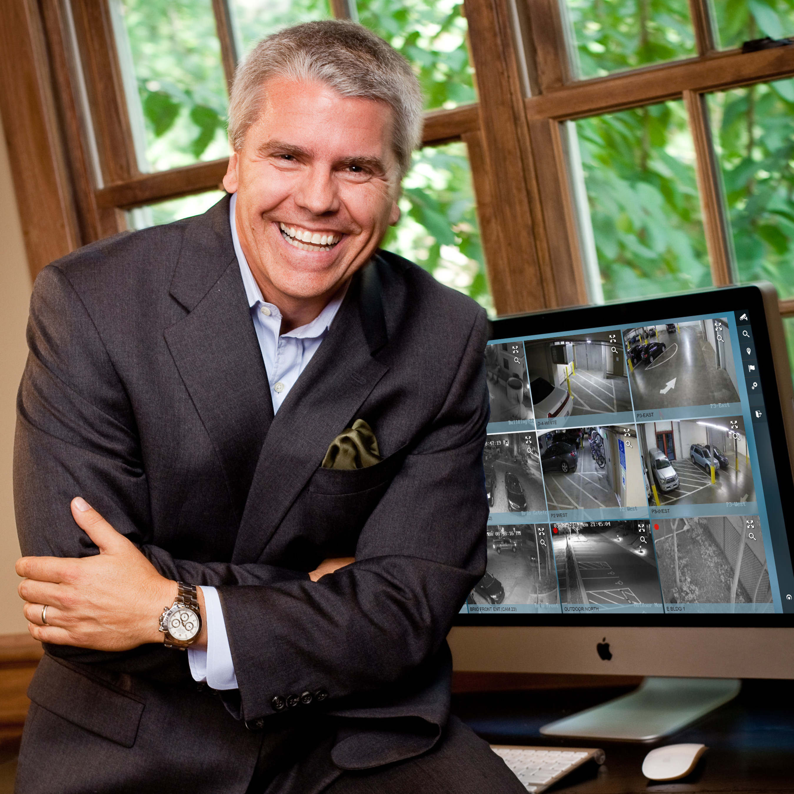 Martin Renkis, Founder + CEO Smartvue Corporation