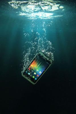 The NAUTIZ X1 Ultra-rugged Smartphone Is Now Shipping. (PRNewsFoto/Handheld Group) (PRNewsFoto/HANDHELD GROUP)