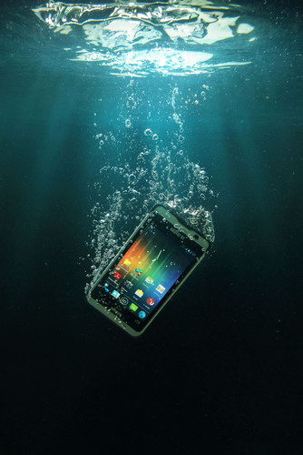 The NAUTIZ X1 Ultra-rugged Smartphone Is Now Shipping. (PRNewsFoto/Handheld Group) (PRNewsFoto/HANDHELD GROUP)