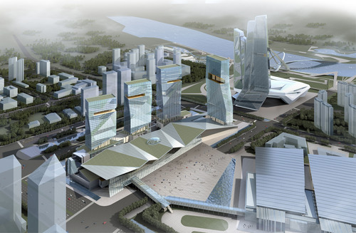 Convention Center Architects tvsdesign Wins Competition To Expand Nanjing, China Expo Center