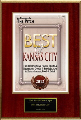 "Nail Perfection & Spa Selected For ""Best of Kansas City.""  (PRNewsFoto/American Registry)"
