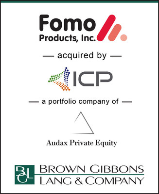 Brown Gibbons Lang & Company (BGL) and ZETRA International (ZETRA) are pleased to announce the sale of Fomo Products, Inc. (Fomo) to ICP Adhesives and Sealants, Inc. (ICP Adhesives), a division of Innovative Chemical Products (ICP) Group. ICP Group,a portfolio company of Audax Private Equity, is a manufacturer and formulator of specialty coatings, adhesives, and sealants.  Fomo and its parent company, FLM Group of Appenzell, Switzerland, were represented in the transaction by BGL and ZETRA.
