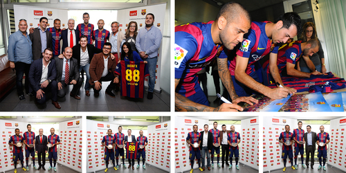 The twin worlds of trading and football define new levels of excellence in Ciutat Esportiva, Barcelona (PRNewsFoto/IronFX Global Limited)