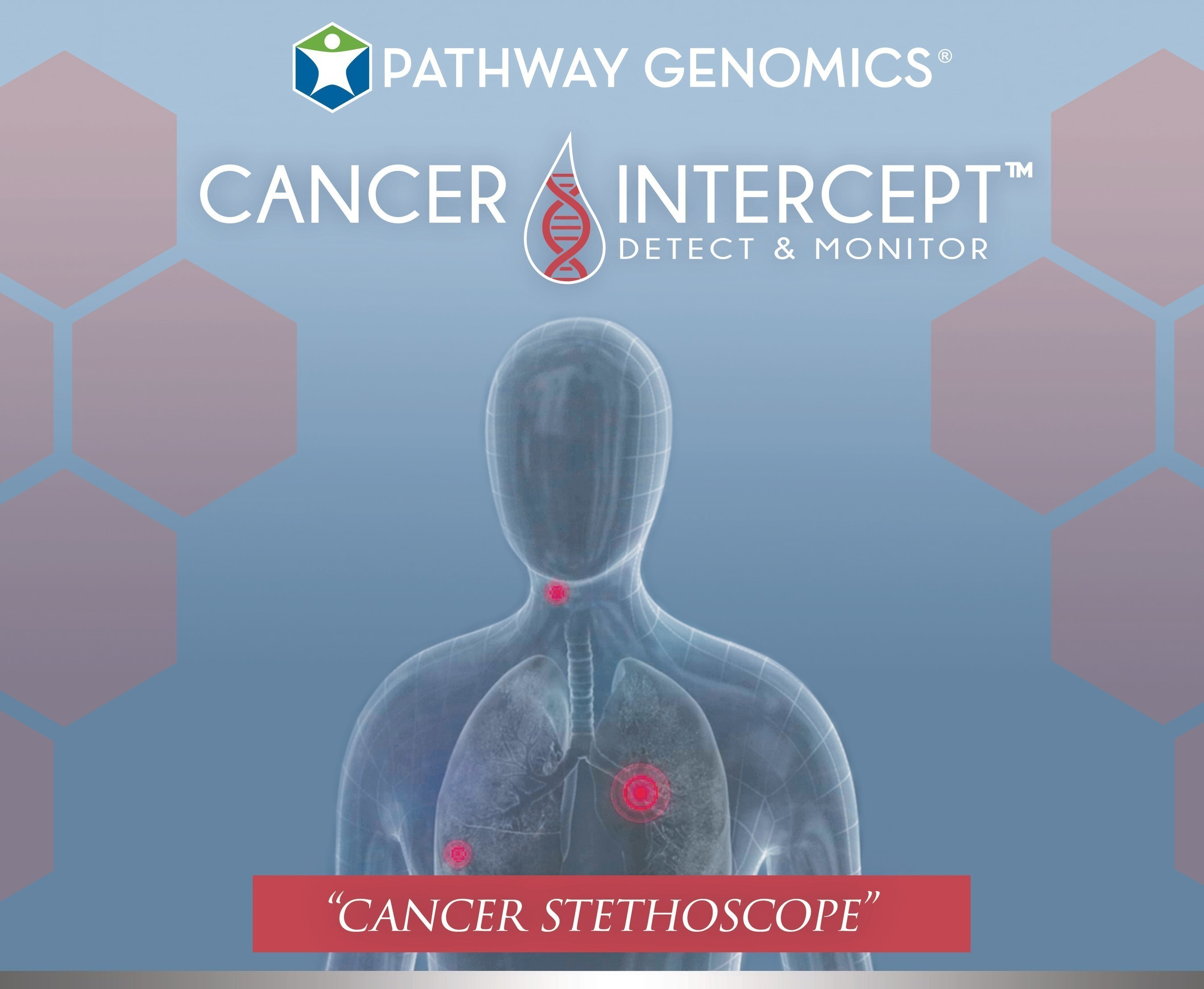 Pathway Genomics launches CancerIntercept, its first liquid biopsy, a non-invasive screening test designed for early cancer detection and monitoring.