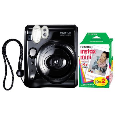 Fujifilm Instax Mini 50 Instant Analogue Camera with 2x Instax Film Packs