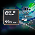 TI's WiLink(TM) 8.0 family: World's first 5-in-1 wireless connectivity solutions.  (PRNewsFoto/Texas Instruments (TI))