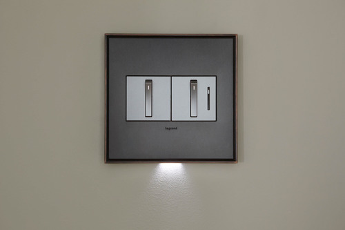 The adorne collection by Legrand features design-driven light switches, dimmers, outlets and wall plates to create new decorating opportunities for the homeowner.  (PRNewsFoto/Legrand)