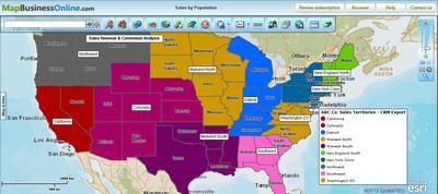 SpatialTEQ Enhances Award-Winning Business Mapping Software with MapBusinessOnline.com 4.0
