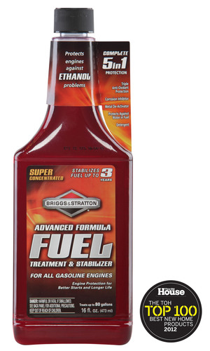 Briggs & Stratton Advanced Fuel Treatment.  (PRNewsFoto/Briggs & Stratton Corporation)