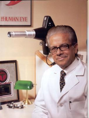 Dr. V.K. Raju of The Eye Foundation of America.
