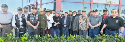 Veterans of the 65th Infantry Regiment known as Borinqueneers living in Florida