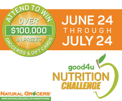 Natural Grocers good4u Nutrition Challenge Sweepstakes