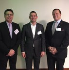 Jeffery Goffman, Al Guido, President of San Francisco 49er's and David Veneziano, EVP American Cancer Society CA Division, at the CEOs Against Cancer meeting in Northern California