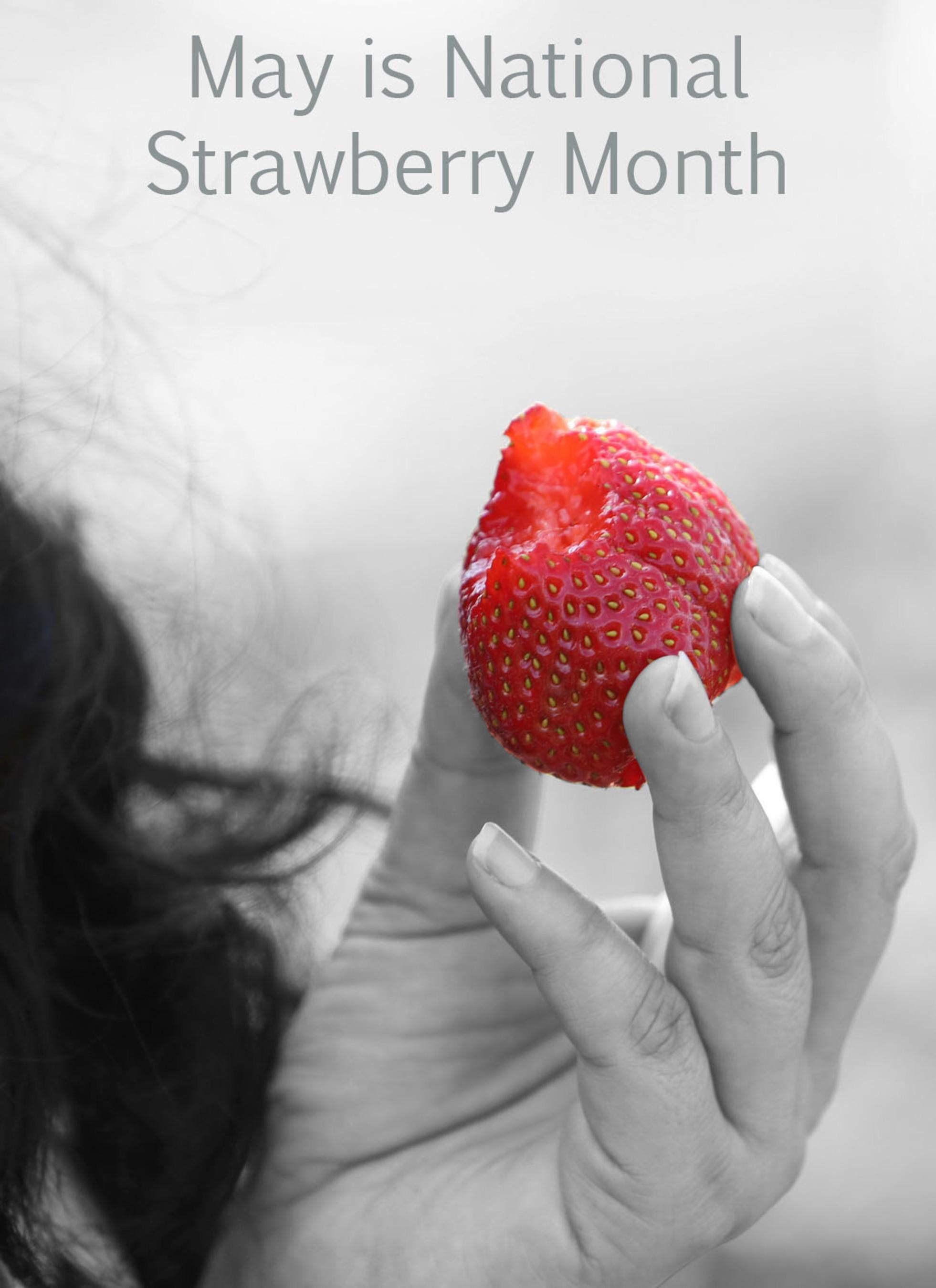 Celebrate National Strawberry Month (PRNewsFoto/California Strawberry Commission)