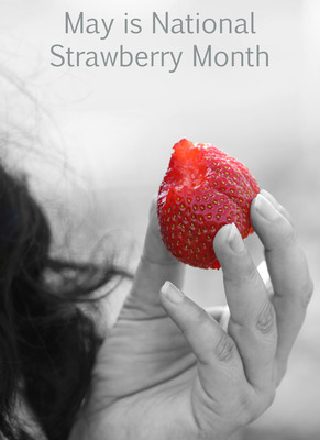 Celebrate National Strawberry Month (PRNewsFoto/California Strawberry Commission)