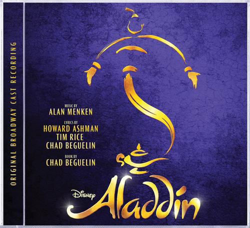 Aladdin cover art (PRNewsFoto/Walt Disney Records)