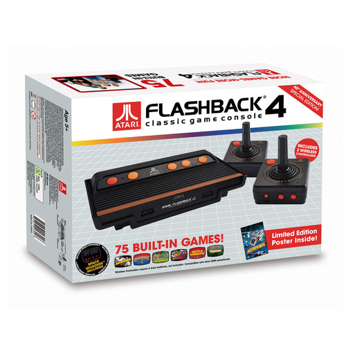 Atari Flashback 4.  (PRNewsFoto/AtGames Digital Media Inc.)