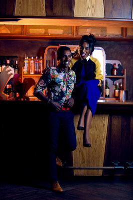 (From Left to Right): Marcus Samuelsson and Eunice Omole