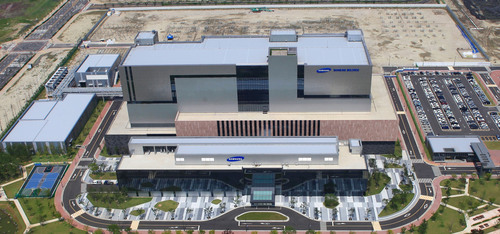 Top View of Samsung BioLogics Plant. (PRNewsFoto/Samsung BioLogics) (PRNewsFoto/SAMSUNG BIOLOGICS)