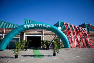 Dana Pembangunan China-Afrika, Hisense Buka Taman Perindustrian Baharu di Afrika Selatan