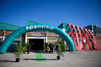 China-Africa Development Fund, Hisense Opens New Industrial Park in South Africa.  (PRNewsFoto/Hisense)