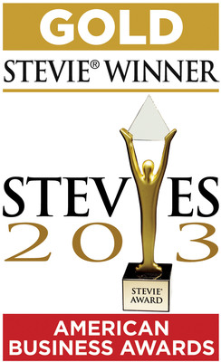 Interactions takes the Gold at Stevie(R) Awards.  (PRNewsFoto/Interactions Corporation)