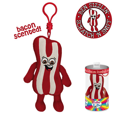 Whiffer Sniffers 'Ben Sizzlin' Bacon Scented Backpack Clip