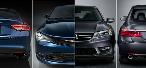 Ingram Park CDJ compares 2015 Chrysler 200 to 2015 Honda Accord. (PRNewsFoto/Ingram Park CDJ)