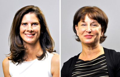 Louise Winstanly (left), Deborah Smulyan (right).  (PRNewsFoto/IntraHealth International)