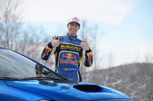 Travis Pastrana returns to Subaru Rally Team USA for the 2014 Rally America season. (PRNewsFoto/Subaru of ...