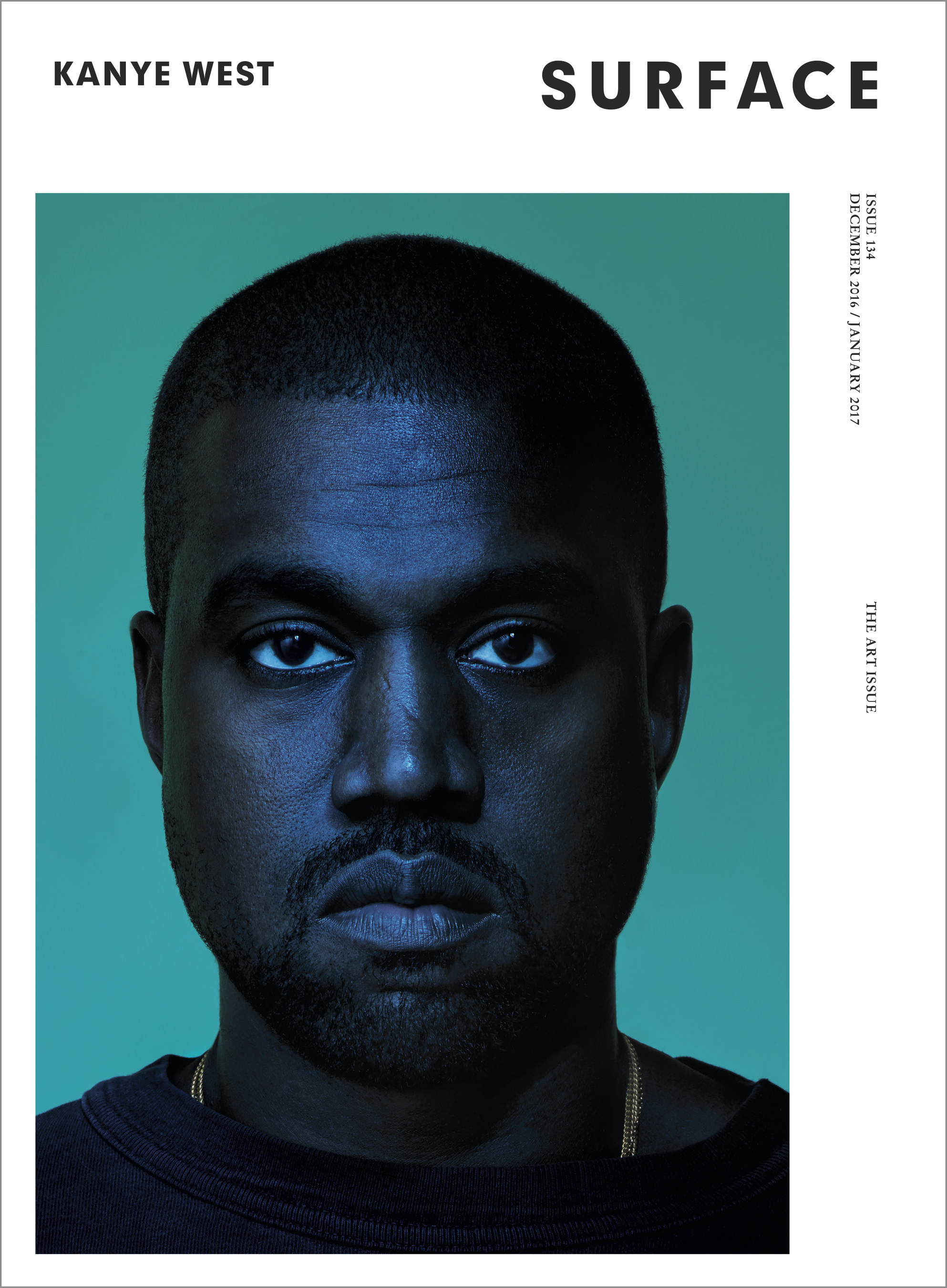 Surface Publishes Unprecedented Video Interview w/ Kanye West On Race, Politics, And The Power of Design. Cover Shot by Albert Watson