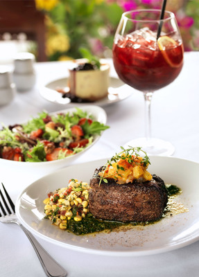 Fleming's Prime Steakhouse & Wine Bar Celebrates Summer With Steak & Sangria Prix Fixe Options. New Pairings Offer A Summer Vacation Experience Every Two Weeks During July And August.  (PRNewsFoto/Fleming's Prime Steakhouse & Wine Bar)