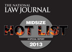 Only 20 firms nationwide are selected by the NLJ for the Midsize Hot List.  (PRNewsFoto/Arnall Golden Gregory LLP)