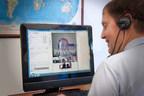 A TBI survivor participating in CLiC, BISSWVA's tele-health rehabilitative support program.