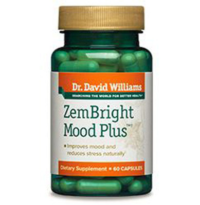 ZemBright Mood Plus Mood Enhancement Supplement. (PRNewsFoto/Healthy Directions)