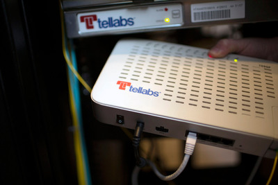 Deltek employees gain gig-to-the-desktop speeds for VoIP, video and data services with Tellabs Optical LAN.