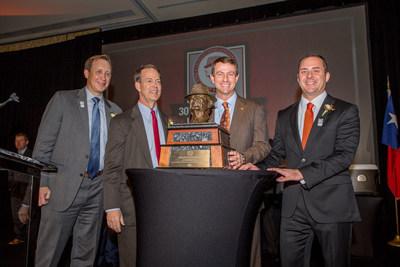 "Dabo Swinney Of Clemson University Named 2015 Paul ""Bear"" Bryant Coach Of The Year"