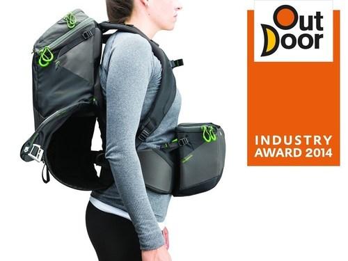 MindShift Gear's rotation180 Panorama Backpack wins OutDoor Industry Award 2014 (PRNewsFoto/MindShift Gear)